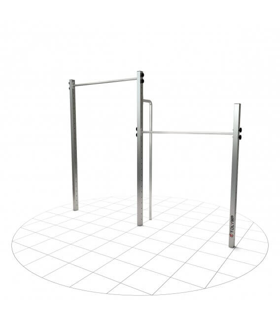 Double Pull-up bar Zugschwitze