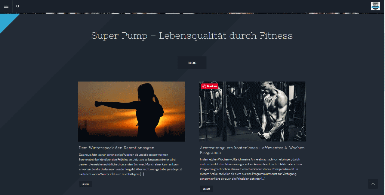 Super Pump Blog mit Kevin