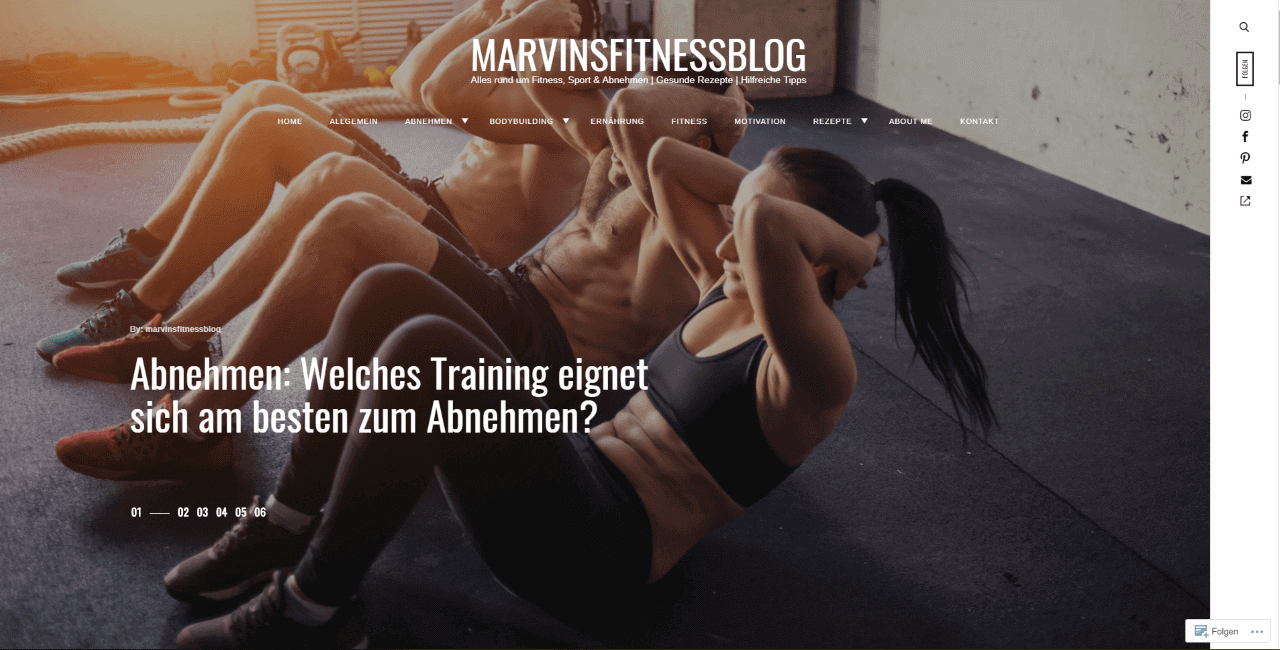 Marvins Fitness Blog