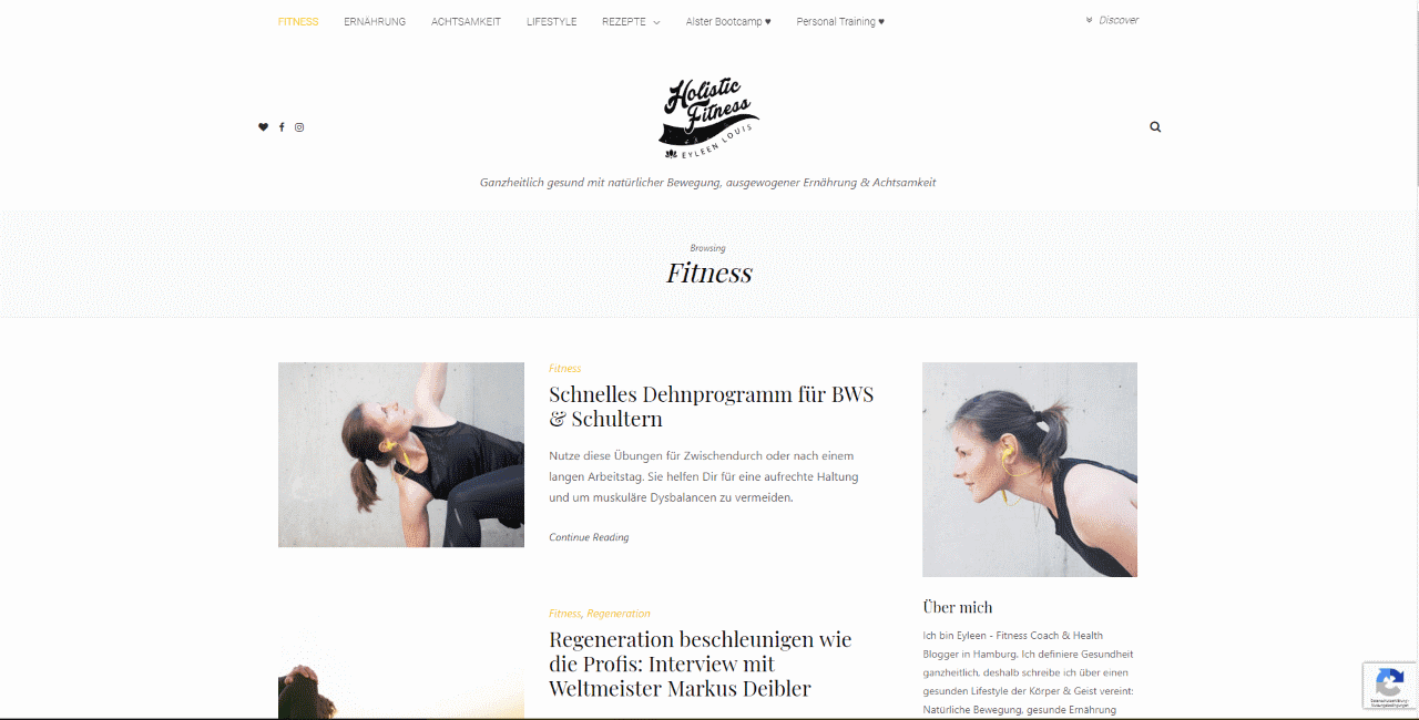 Holistic Fitness Blog
