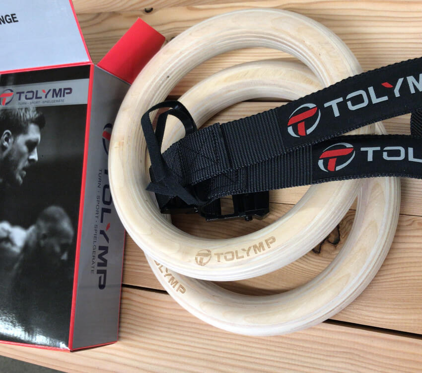 Fastening gymnastic rings - a practical guide