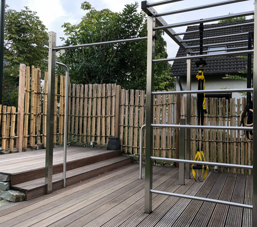 Super chic TOLYMP Cross system in the bamboo garden